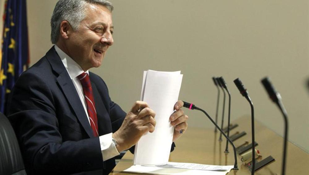 José Blanco comparece en el Congreso