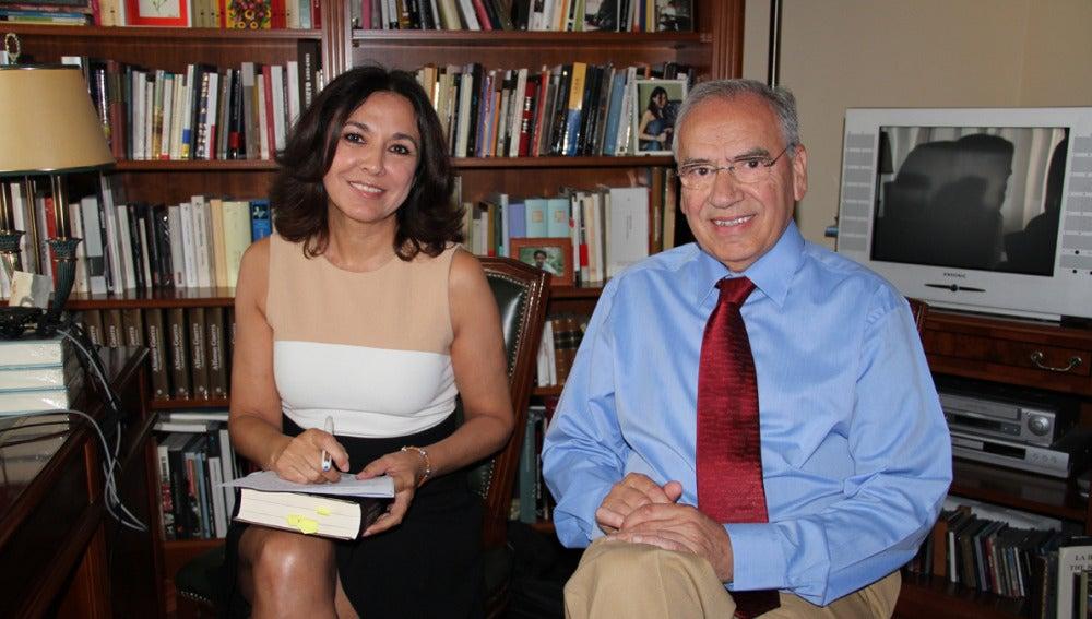 Isabel Gemio y Alfonso Guerra