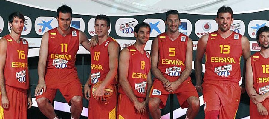 La selección española de baloncesto ya mira al Europeo de Eslovenia