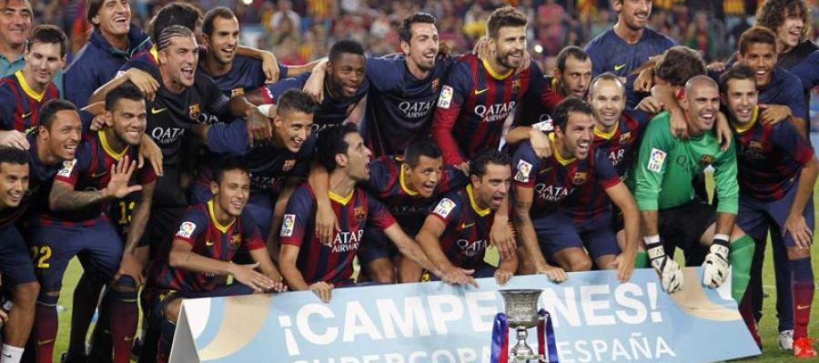 El Barcelona logra la Supercopa de España