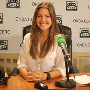 Aneyma León, redacción y producción de Julia en la onda