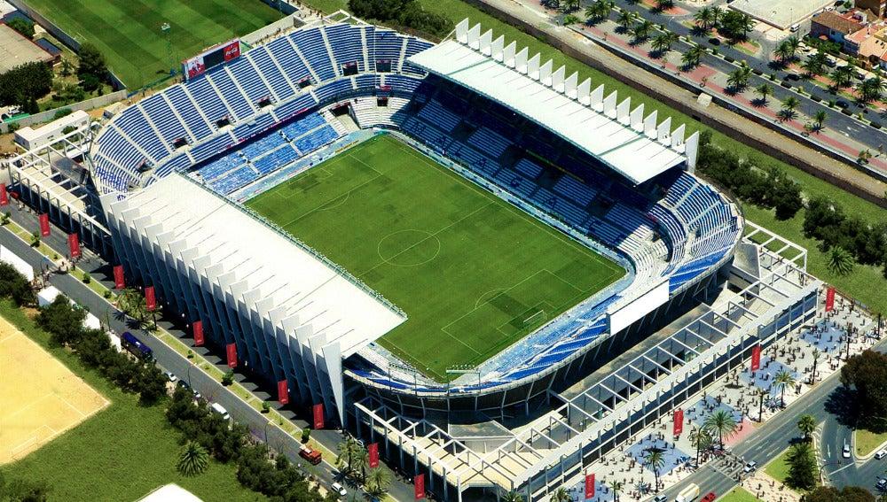 Estadio de La Rosaleda (Málaga)