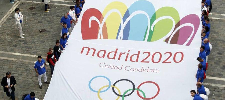 Pancarta de Madrid 2020.