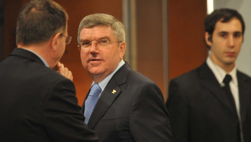 Tomas Bach, nuevo presidente del COI