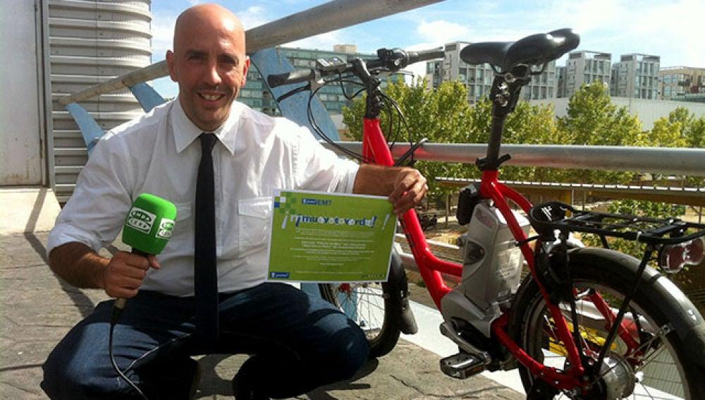 Jaime Novo, galardonado en los premios  'Muévete Verde'