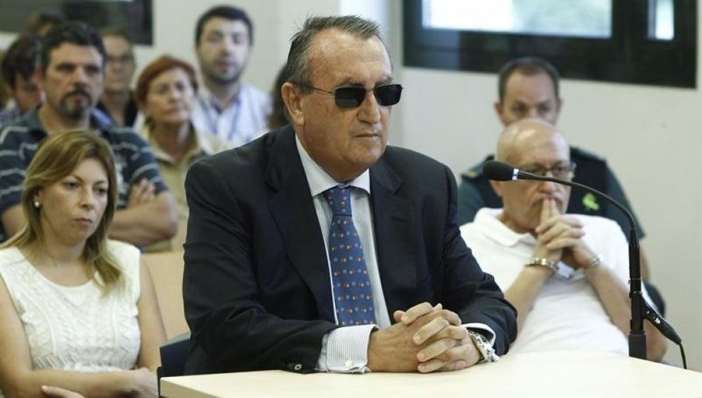 Carlos Fabra en el juicio