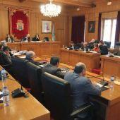 Pleno deputación Ourense