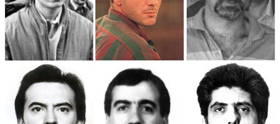 Fotografías de algunos de los presos que pueden beneficiarse de la derogación de la doctrina Parot