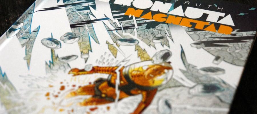 Portada de 'Astronauta Magnetar', de Danilo Beyruth, que edita Panini Cómics.