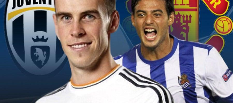 Juventus - Real Madrid y Real Sociedad - Manchester United en Radioestadio