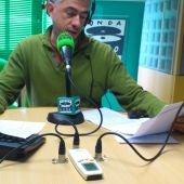 Juan de Sola en los estudios de Onda Cero Pontevedra