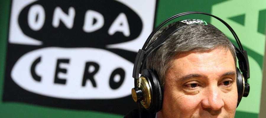 El presidente de Renault España, José Vicente de los Mozos, participa en una entrevista en Onda Cero