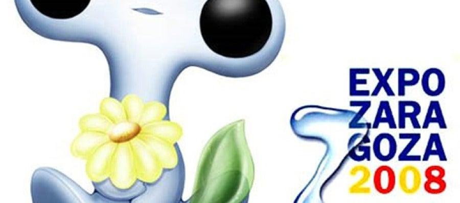 Fluvi, la mascota de la Expo de Zaragoza