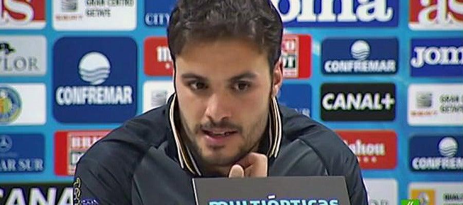 Pedro León, en rueda de prensa