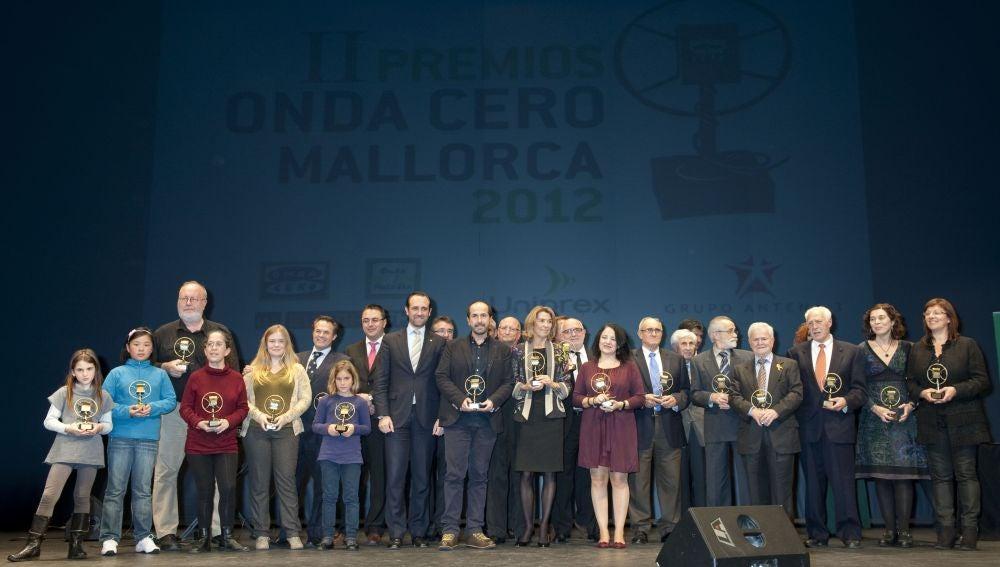 Premios Onda Cero Mallorca 2012