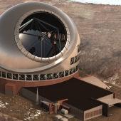 TMT. El Thirty Meter Telescope de Hawái aspira a ser el mayor telescopio sobre la faz de la Tierra.