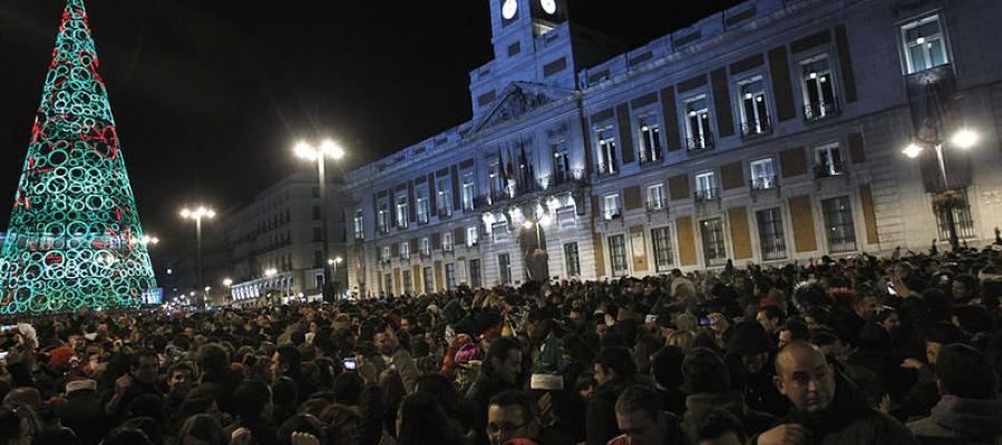Ondacero radio 500 polic as vigilar n las 39 preuvas 39 y for Puerta del sol uvas