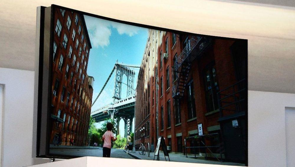 Televisor flexible de Samsung