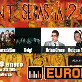 EUrOPA FM, EN LA REVETLA SAN SEBASTIA 2014
