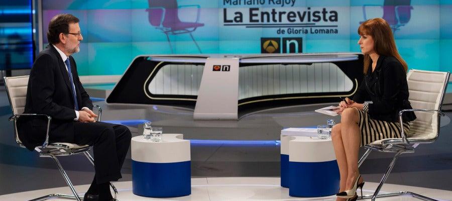 Rajoy, entrevistado en Antena 3