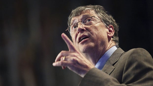 El multimillonario y filántropo Bill Gates