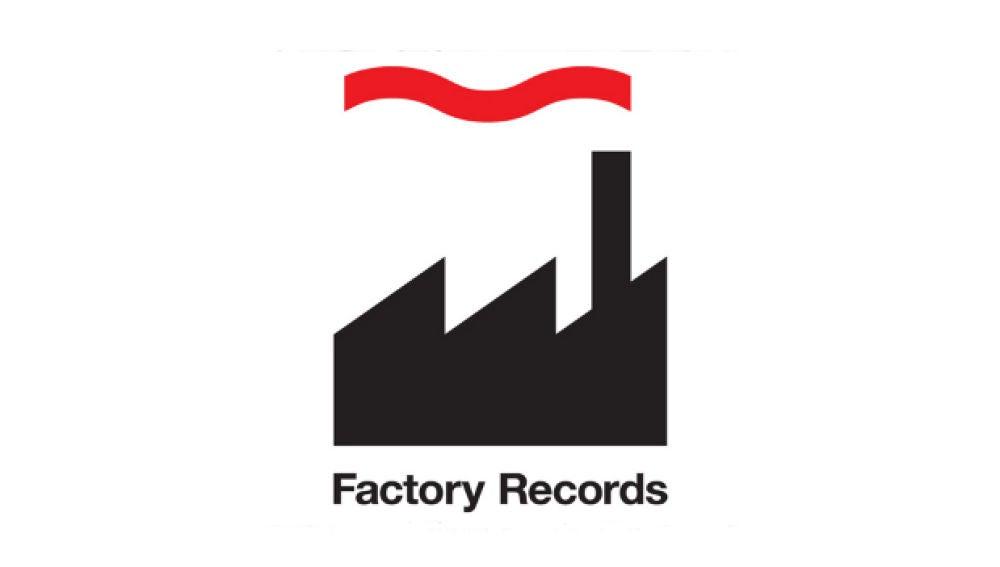 Logotipo de Factory Records diseñado por Peter Saville