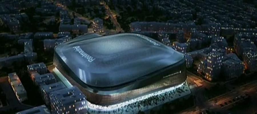 Futuro aspecto del estadio Santiago Bernabéu