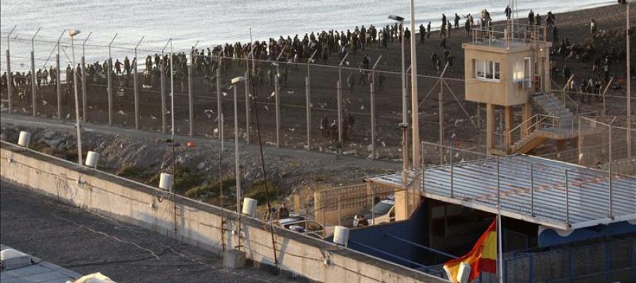 Frontera entre España y Marruecos (Archivo)