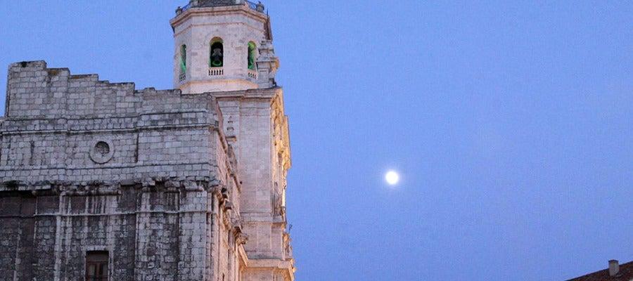 Vista nocturna de la Catedral de Valladolid