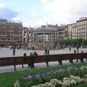 Plaza del Castillo, Pamplona