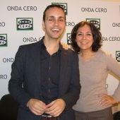 Isabel Gemio y Anxo Pérez