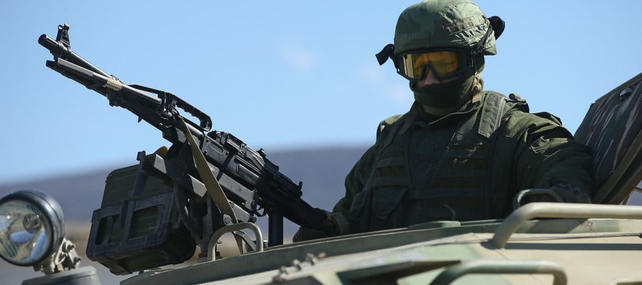 Crece la tensión militar en Crimea