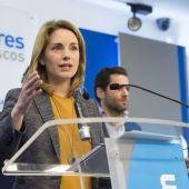 Arantza Quiroga, líder del PP vasco