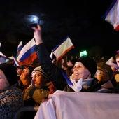 Crimea celebra su anexión a Rusia