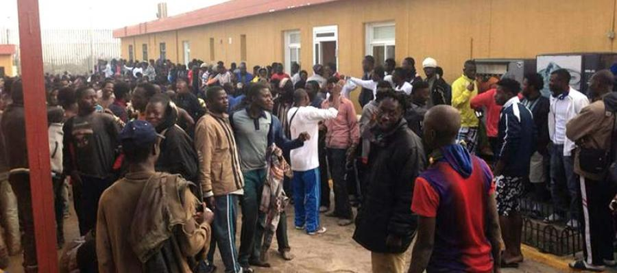 En menos de tres meses han conseguido entrar a Melilla más de 1.600 inmigrantes