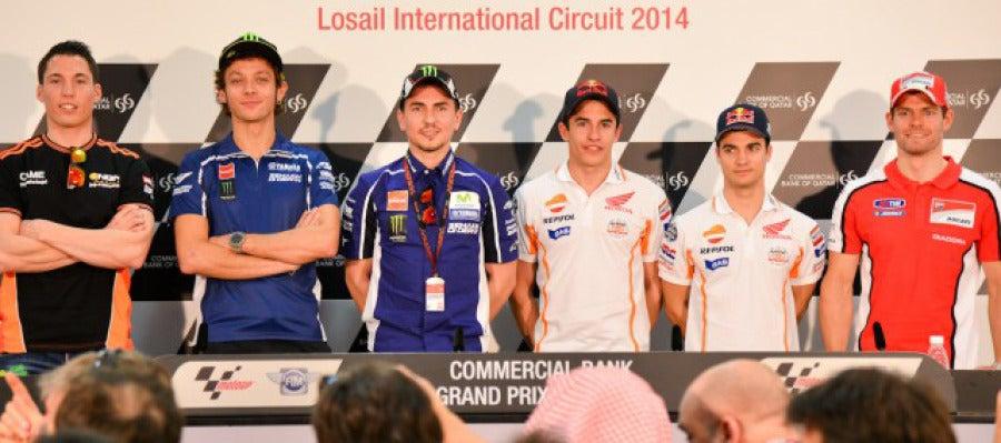 Los pilotos de MOTO GP que parten como favoritos al título