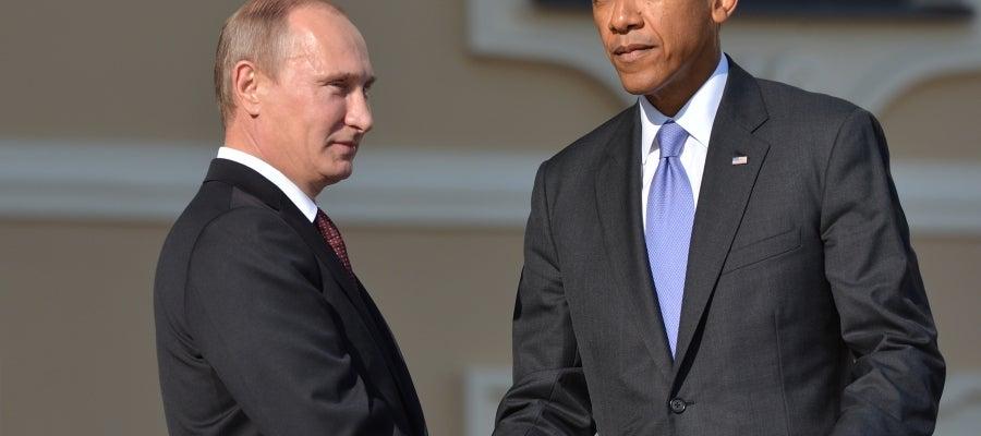 Barack Obama y Vladimir Putin, enfrentados por la situación de Crimea