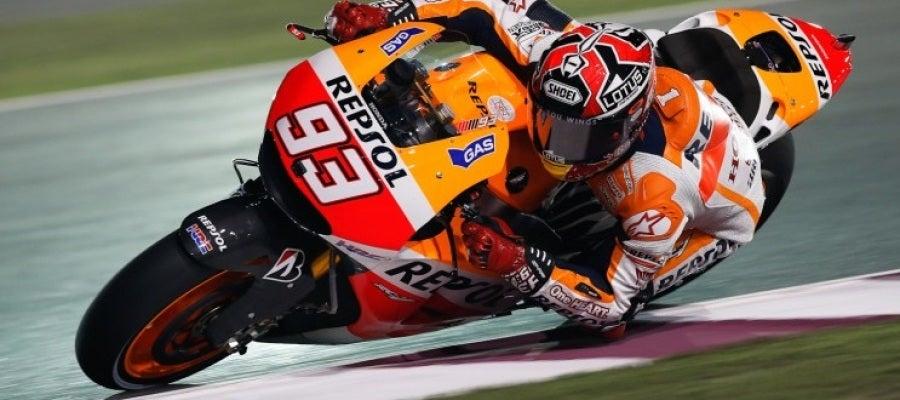 Marc Márquez en el GP de Qatar