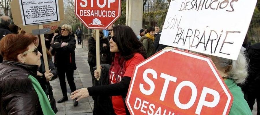 Manifestación de Stop Desahucios Ciudad Real.