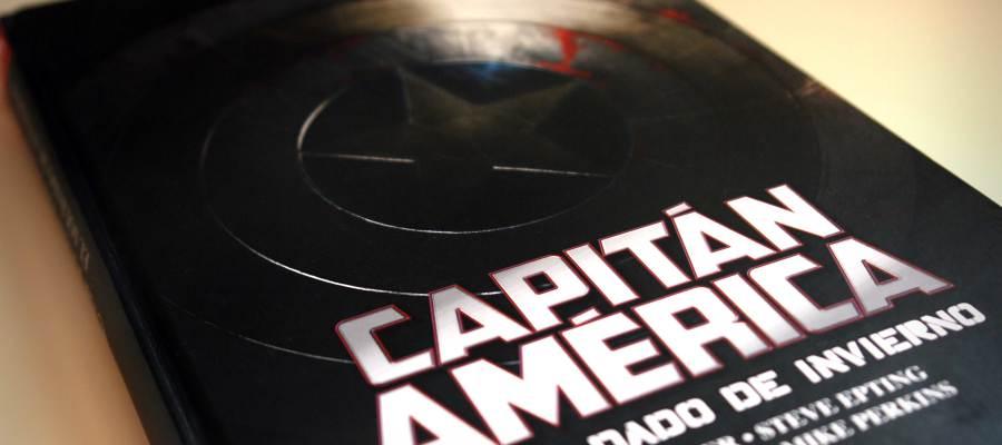 Portada de 'Capitán América. El Soldado de Invierno' que edita Panini Cómics