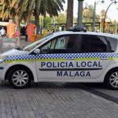 Coche patrulla de la Policía Local de Málaga