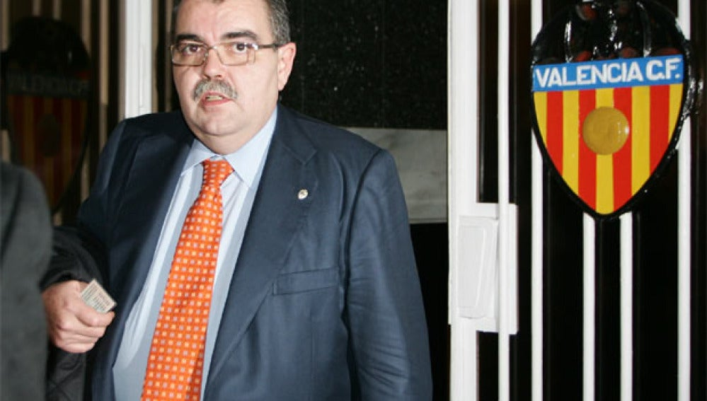 El expresidente del Valencia Juan Soler