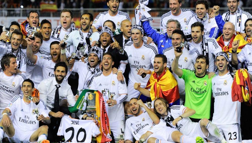 El Real Madrid, campeón de Copa