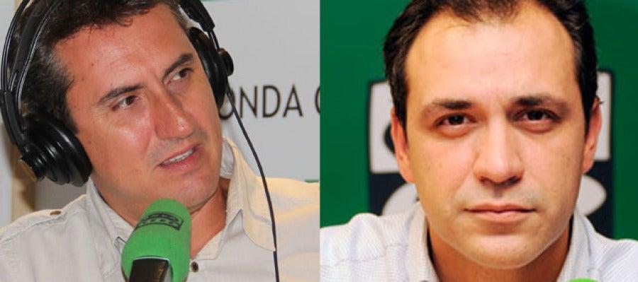Lorenzo Fernández y Bruno Cardeñosa