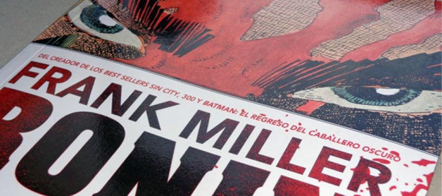 Portada de 'Ronin', de Frank Miller, editado por ECC