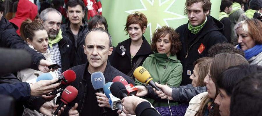Josu Juaristi, candidato Bildu (Los Pueblos Deciden) a las elecciones europeas