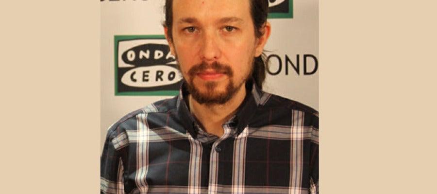 Pablo Iglesias, candidato de Podemos