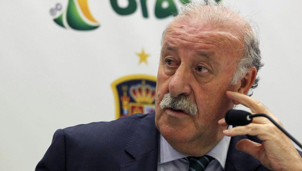 """Vicente Del Bosque: """"Algún jugador que no ha debutado puede ir al Mundial"""""""