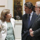 Santamaría, Aznar y Cañete