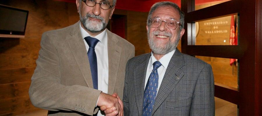 Los candidatos Marcos Sacristán y Felipe Cano